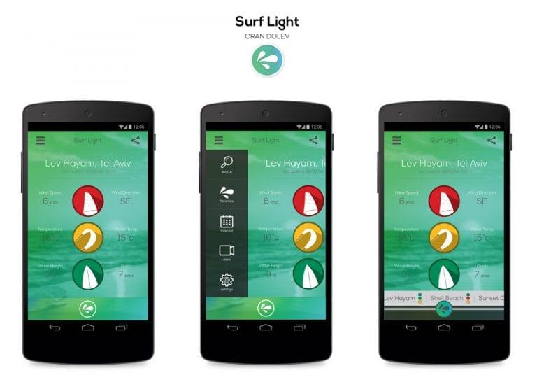 אפליקציה מעוצבת - מה מזג האוויר אצלכם?