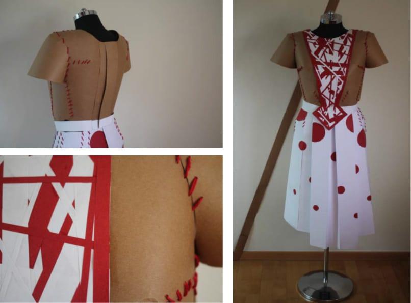 גילי-ברקוביץ'-שמלת-נייר
