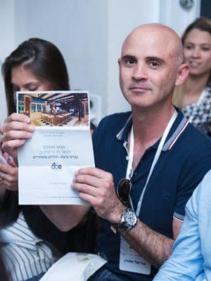 אוריאל שטרן זוכה בקורס חללים מסחריים במתנה, צילום: LUZ